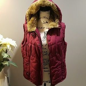 American Eagle Hooded Vest XL 💖💖💖